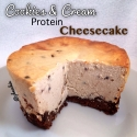 Cookies and Cream Protein Cheesecake