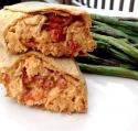 Creamy Roasted Red Pepper Wrap