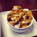Crunchy Kale, Chicken, & Sweet Potato Mash