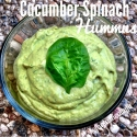 Cucumber Spinach Hummus