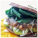 Curried Lentil Sandwich