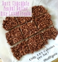 Dark Chocolate Peanut Butter Rice Crispy Treats