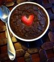 Dark Chocolate Strawberry Brownie Baked Oats