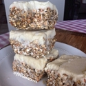 Deep Dish Carrot Cake (Protein) Bars