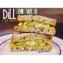 Dill Egg Salad Sandwich