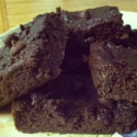 Double Chocolate Black Bean Casein Brownies
