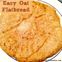 Easy Oat Flatbread