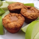 Easy Salted Caramel Apple Pie Protein Bites