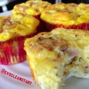 Egg Ham & Cheese Breakfast Muffin