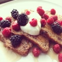 Ezekiel Cinnamon Raisin Bread French Toast