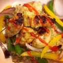 Fajita Chicken W/ Cauliflower Rice