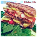 Farmer'S Market Vegetable Grilled Cheese