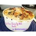 Fat- Free Cheesy Egg White Quiche