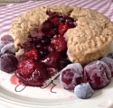 Five Minute (Vegan) Triple Berry Mugcake
