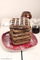 Flourless Gingerbread Waffles