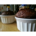 Fluffy Chocolate Muffins