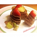 Fluffy Gingerbread Pancakes