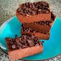 Fudgy No Bake Protein Brownies