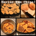 Garlic Yam Chips
