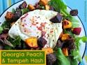 Georgia Peach & Tempeh Hash
