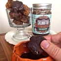 Glazed Chocolate Mint Donut Dunkers