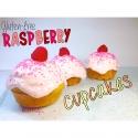 Gluten-Free Raspberry Cupcakes