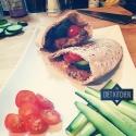Healthy Baked Arabic Falafels
