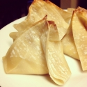 Healthy Crab Rangoon
