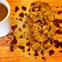 Healthy Pumpkin Oatmeal Cranberry Cookies With Dark Chocolate