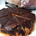 Healthy Snickers Cake