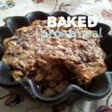High Protein Dark Chocolate Baked Oatmeal