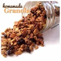 Homemade Granola: Honey, Nuts, and Zante Currants