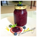 Homemade Spicy Blueberry Jam (Sugar Free)