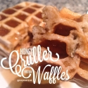 Honey Cruller Protein Waffles