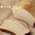 Honey Oat Protein Bread