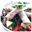 Italian-Style Turkey Spinach Salad