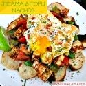 Jicama & Tofu Nachos