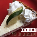 Key Lime Protein Cheesecake