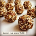 Lemon Chia Energy Balls