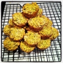 Lemon Poppyseed Mango Mini Muffins!