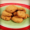 Low Carb Flour Free Peanut Butter Cookies