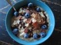 Maple Bacon Oatmeal