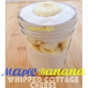 Maple Banana Whipped Cottage Cheese