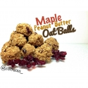 Maple Peanut Butter Oat Balls