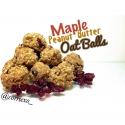Maple Peanut Butter Oat Balls
