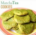 Matcha Tea Cookies
