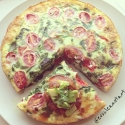 Mexican Fiesta Egg White Quiche