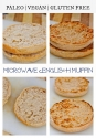 Microwave English Muffin (Gf, V, P)