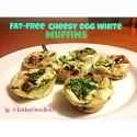 Mini Cheesy Egg White Muffins