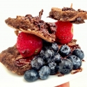 Mini Chocolate Pancake Sliders